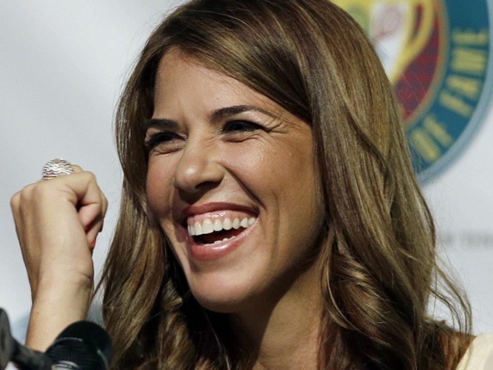 Bývalá světová tenisová jednička Jennifer Capriatiová.
