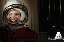 Sovětský kosmonaut Jurij Gagarin