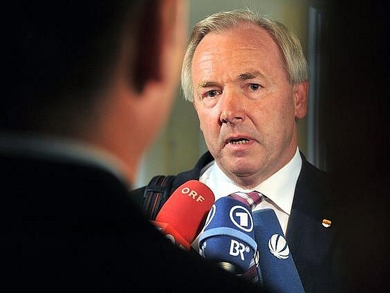 Korutanský hejtman Gerhard Dörfler