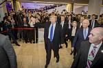Donald Trump v Davosu