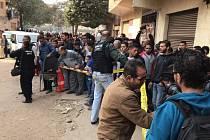 Útok na koptský kostel v Egyptě