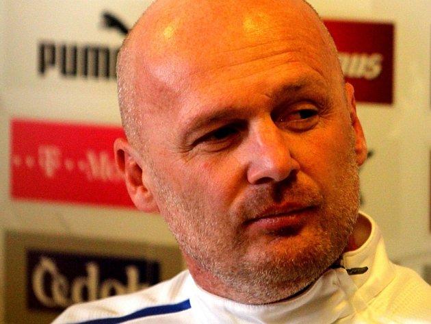 Bývalý trenér fotbalové reprezentace Michal Bílek.