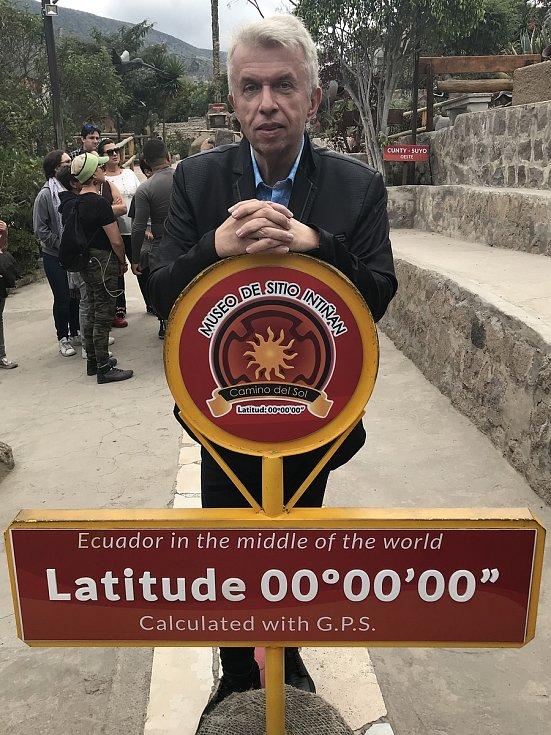 Houslový virtuoz na cestách po celém světě - Ekvádor