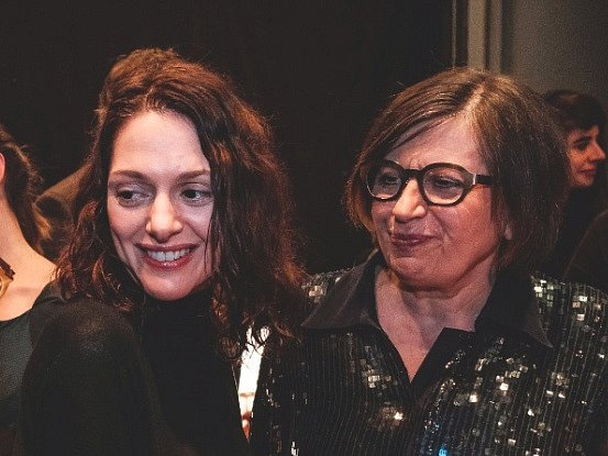 Klára Issová a Zuzana Krónerová