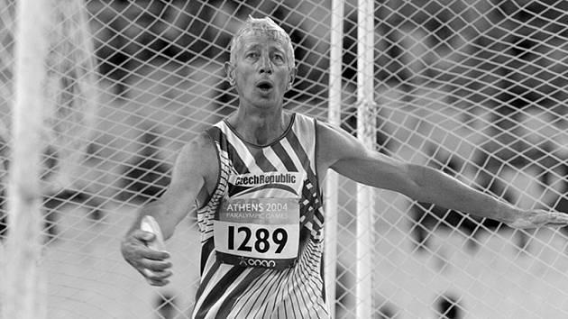 Český handicapovaný atlet Milan Kubala.