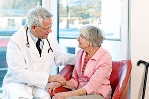 Lékař a pacient - Ilustrační foto
