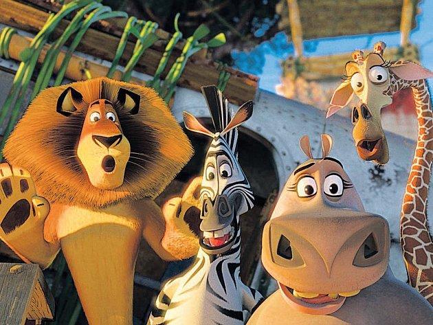 Zase Afrika? Alex, Marty, Glorie a Melman znovu ztroskotali, tentokrát ale v zábavnějším dobrodružství.