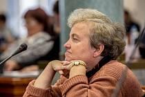 Z ustavujícího zasedání krajského zastupitelstva Středočeského kraje v pátek 18. listopadu 2016 v Praze. Na snímku Dana Drábová.