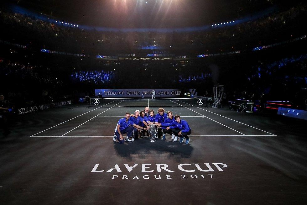 Premiérový Laver Cup vyhrál tým Evropy.