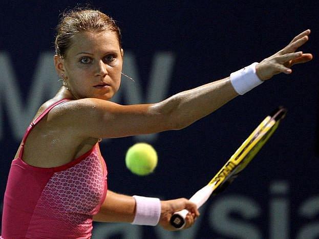 Česká tenistka Lucie Šafářová zažila v Kuala Lumpuru další skvělý den.