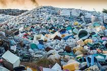 Plastový odpad, ilustrační foto