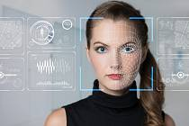 Technologie rozpoznávání obličeje - Ilustrační foto