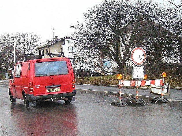 Rekonstrukce Zdabořské ulice v Příbrami už brzy skončí.