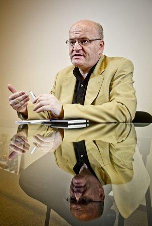 Daniel Herman, lídry kandidátky KDU-ČSL vPraze do parlamentních voleb, poskytl 12.září vPraze rozhovor Deníku.