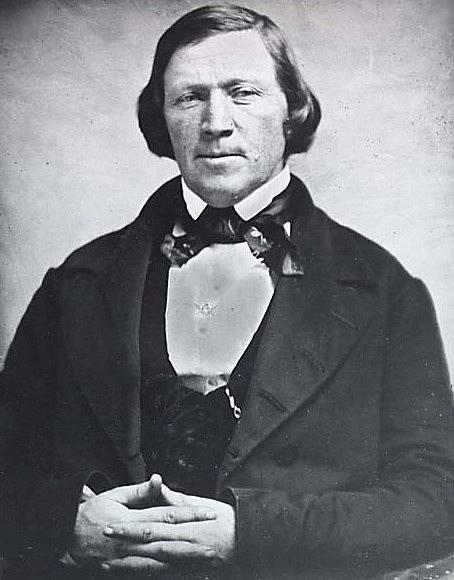 Duchovní lídr mormonů Brigham Young.