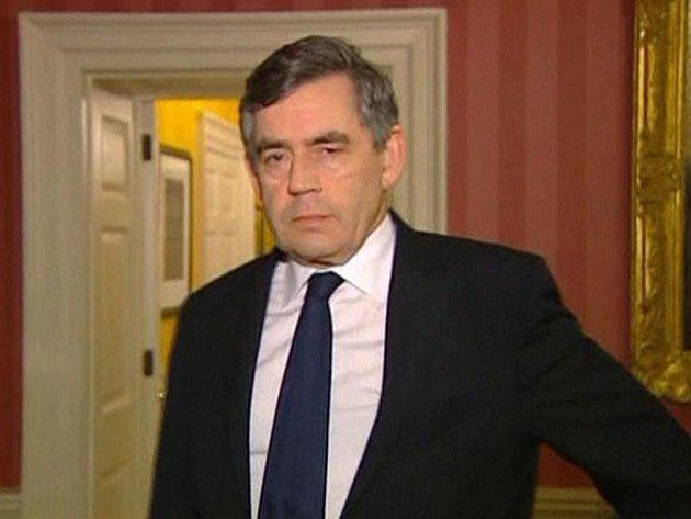 Britský premiér Gordon Brown.