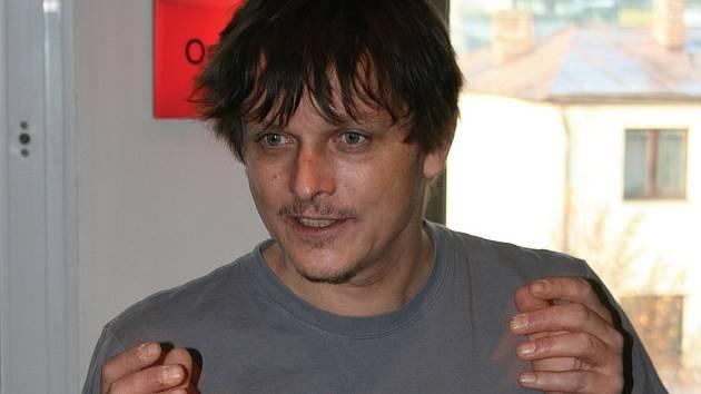 Frontman populární kapely Chinaski Michal Malátný.