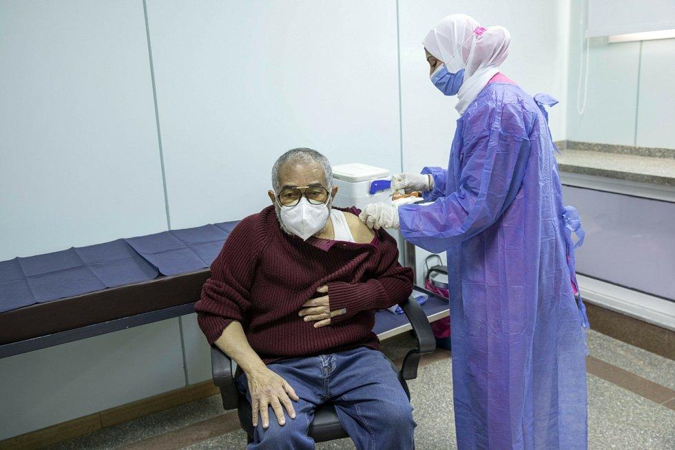 Očkování proti koronaviru v Egyptě