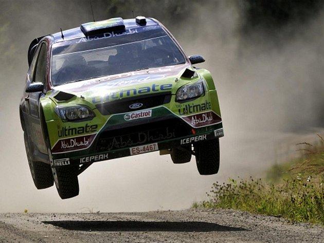 Pilot továrního týmu Ford Jari-Matti Latvala ovládl Finskou rallye.