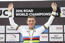 Tony Martin se zlatou medailí