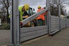 Německo bojuje se záplavami