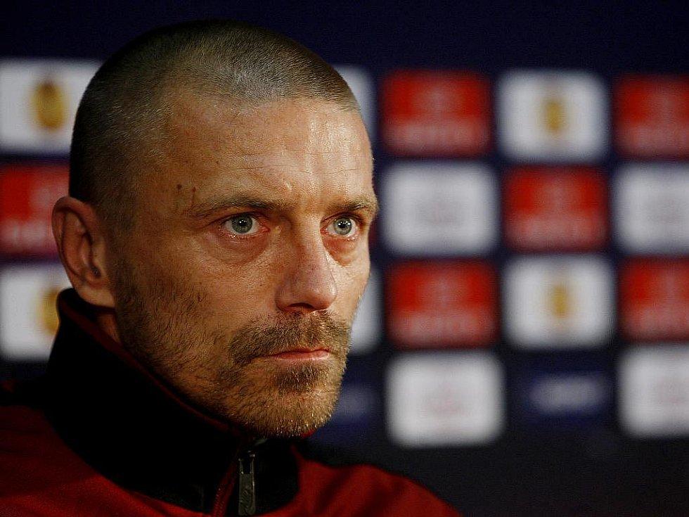 Fotbalový obránce Tomáš Řepka.