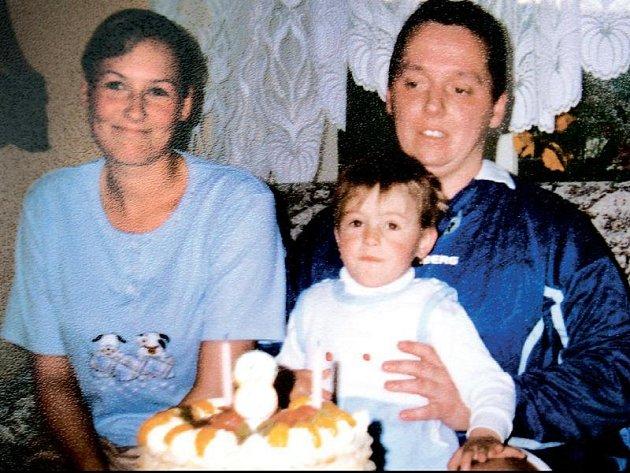 Jana B. slaví narozeniny svého syna s druhem Rudolfem Havlíkem.