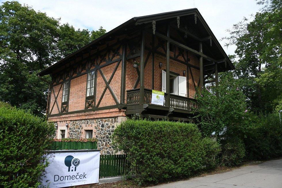 Otevření komunitního centra Domeček ve Stromovce