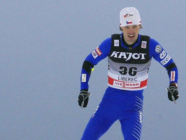 Běžec na lyžích Martin Koukal ve sprintu v Liberci nebodoval.