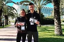Marcele Joglové pomohl k rychlému času ve Valencii David Vaš