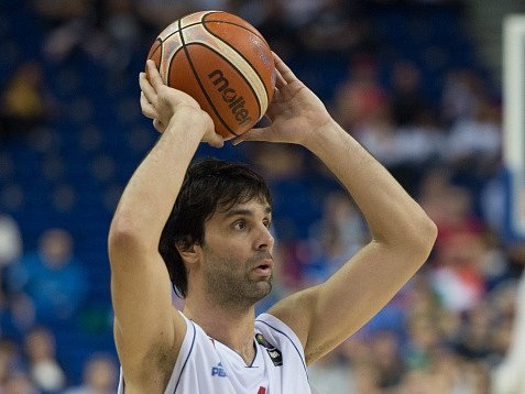 Miloš Teodošič, hvězda basketbalistů Srbska