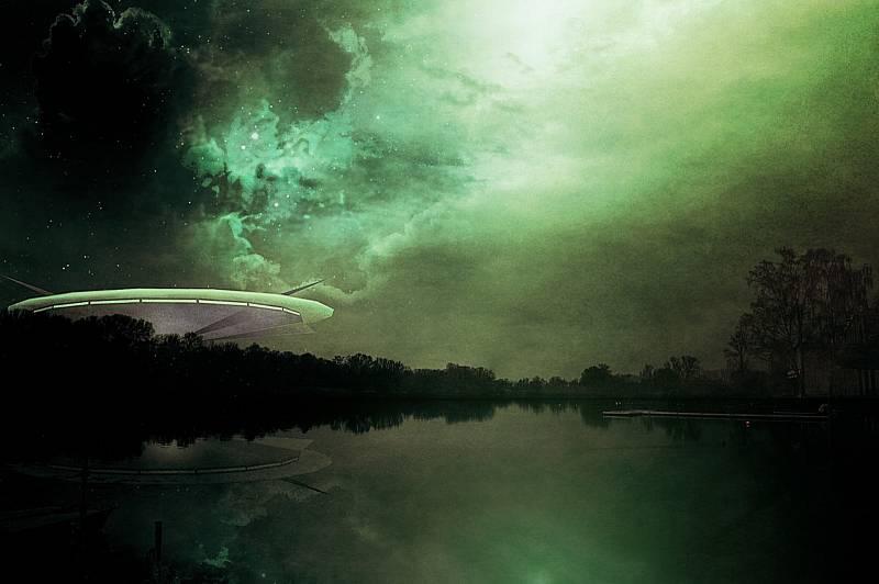 Mimozemšťané a létající talíře - Ilustrační foto
