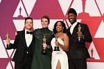 Nejlepší herci loňského roku podle americké filmové akademie. Rami Malek, Olivia Colmanová, Regina Kingová a Mahershala Ali