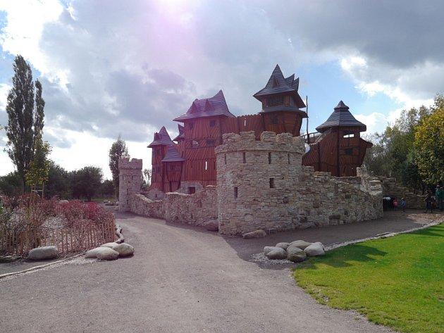 Park Mirakulum v Milovicích.