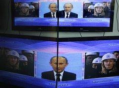 Vladimir Putin versus média