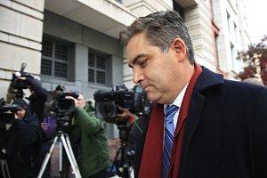 Zpravodaj televize CNN Jim Acosta.