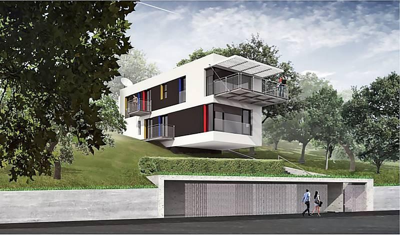 Pasivní rodinný dům Radotín, Smola, 2018.