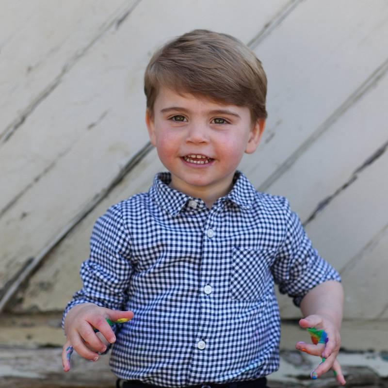 Nový snímek prince Louise