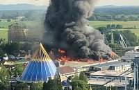 Požár zábavního parku Europa Park