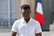 Malijský imigrant Mamoudu Gassama