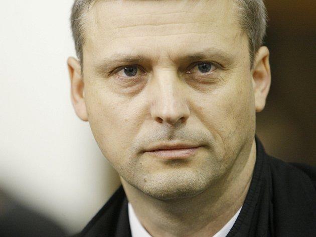Poslanec ODS Roman Pekárek u Vrchního soudu v Praze.