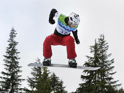 Snowboardcrossař Michal Novotný obsadil v olympijském závodě 16. místo.