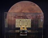 Snímky sondy InSight na Marsu.