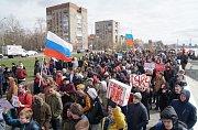 Demonstrace v Omsku