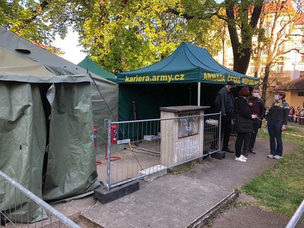Plošné testování v Praze