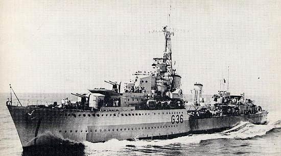 K britské 14. torpédoborecké flotile patřil také parník Nubian
