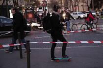 Situace v Paříži během stávky