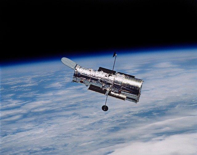 Vesmírný teleskop.