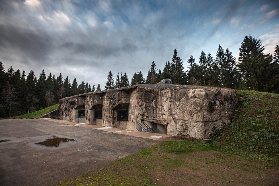 Dělostřelecká tvrz Hanička v Orlických horách