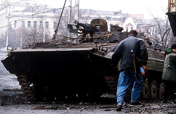 Grozným kdysi otřásala rusko-čečenská válka.